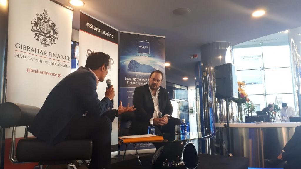 Joey Garcia and Diego Gutierrez at Startupgrind