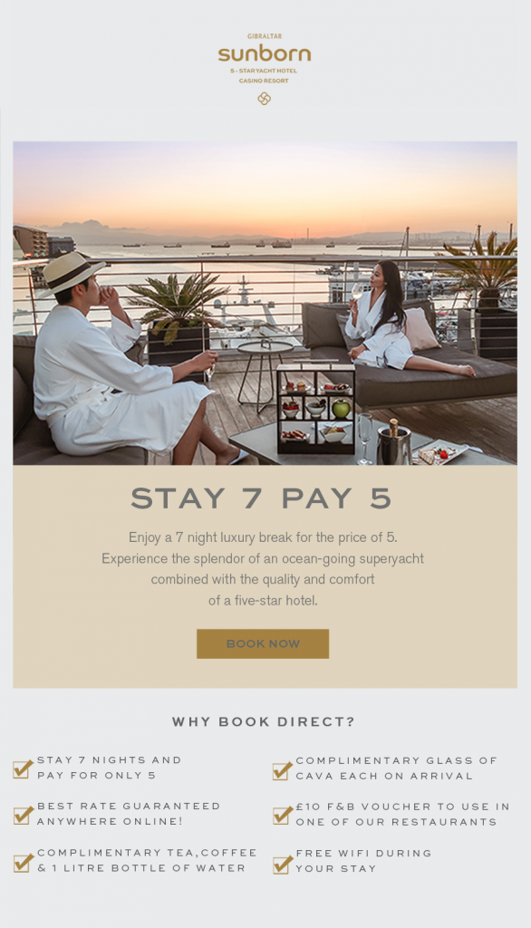 Stay 7 Nights & Pay for 5 Image