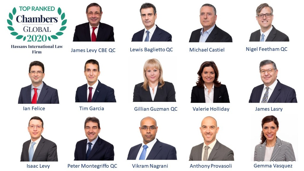 Chambers Global Leading Lawyers 2020